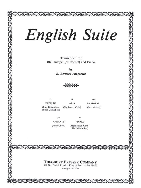 English Suite - Bernard R. Fitzgerald - Partition - laflutedepan.com