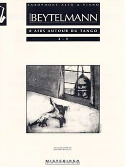 8 Airs Autour du Tango 3 - 4 Gustavo Beytelmann Partition laflutedepan