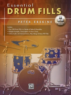 Essential drum fills Peter Erskine Partition Batterie - laflutedepan