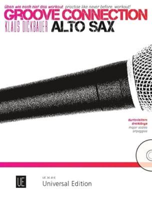 Groove Connection - Saxophone Alto Klaus Dickbauer laflutedepan