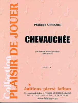 Chevauchée - Philippe Oprandi - Partition - Tuba - laflutedepan.com