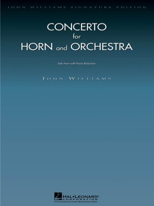 Concerto For Horn John Williams Partition Cor - laflutedepan