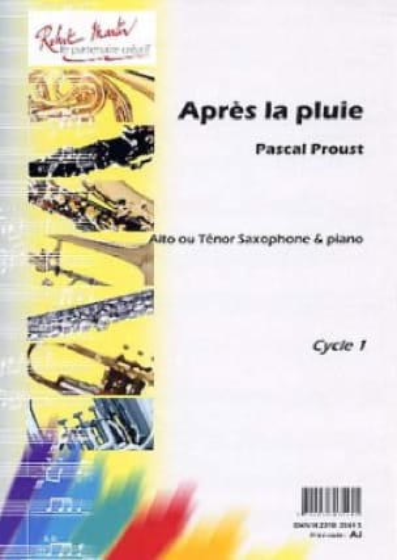 Après la pluie - Pascal Proust - Partition - laflutedepan.com