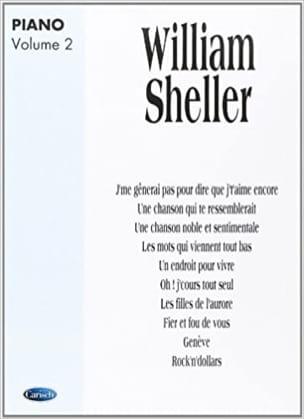 Album Volume 2 William Sheller Partition laflutedepan