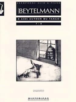8 Airs Autour du Tango 7 - 8 Gustavo Beytelmann Partition laflutedepan