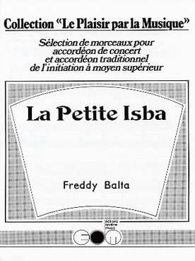 La Petite Isba Freddy Balta Partition Accordéon - laflutedepan