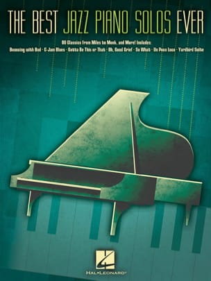 The Best Jazz Piano Solos Ever Partition Jazz - laflutedepan