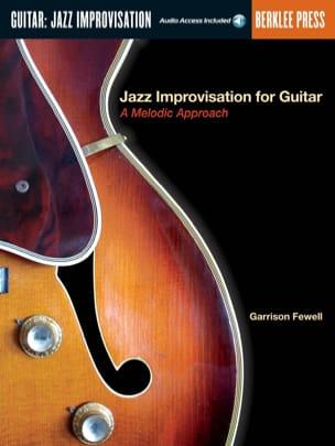Jazz Improvisation For Guitar, A Melodic Approach laflutedepan