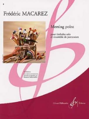Meeting Point - Frédéric Macarez - Partition - laflutedepan.com