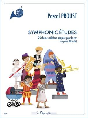 Symphonic-études Pascal Proust Partition Cor - laflutedepan