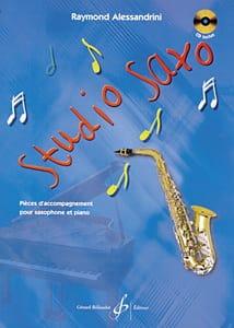 Studio Saxo Raymond Alessandrini Partition Saxophone - laflutedepan