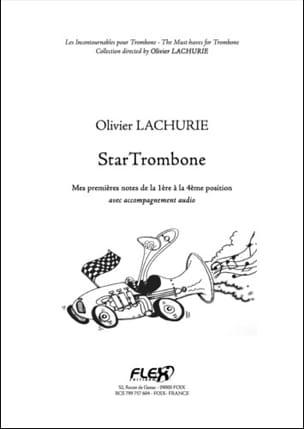 Star Trombone Olivier Lachurie Partition Trombone - laflutedepan