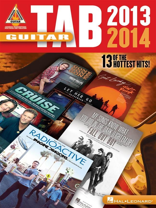 Guitar Tab 2013-2014 - Partition - Pop / Rock - laflutedepan.com