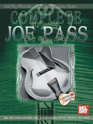Complete Joe Pass Joe Pass Partition Jazz - laflutedepan