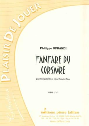 Fanfare du Corsaire Philippe Oprandi Partition laflutedepan