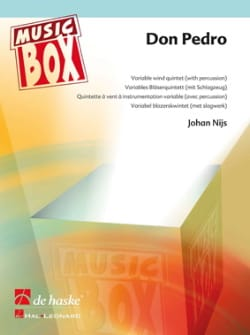 Don pedro - music box Johan Nijs Partition ENSEMBLES - laflutedepan