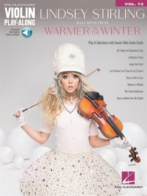 Violin Play-Along Volume 72 - Selections from Warmer in the Winter laflutedepan