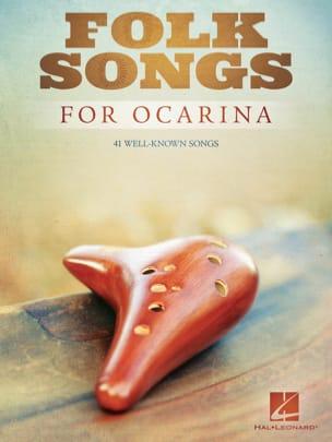 Folk Songs for Ocarina Partition Musique du monde - laflutedepan