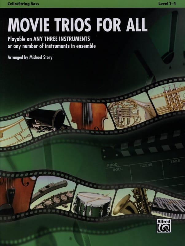 Movie trios for all - Partition - Violoncelle - laflutedepan.com