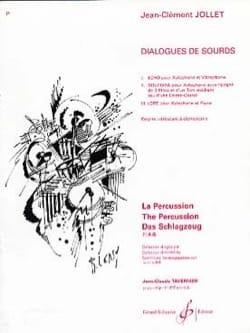 Dialogues de Sourds Jean-Clément Jollet Partition laflutedepan