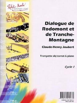 Claude-Henry Joubert - Diálogo de Rodomont y Tranche-Montagne - Partition - di-arezzo.es