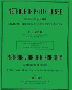Méthode de Petite Caisse Maurice Dewinne Partition laflutedepan