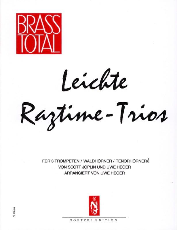 Leichte Ragtime-Trios - JOPLIN - Partition - laflutedepan.com