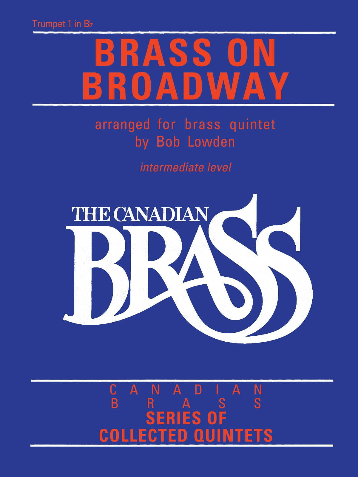 Canadian Brass - Brass On Broadway - Partition - laflutedepan.com