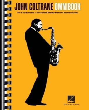 John Coltrane - Omnibook para instrumento Eb - Partition - di-arezzo.es