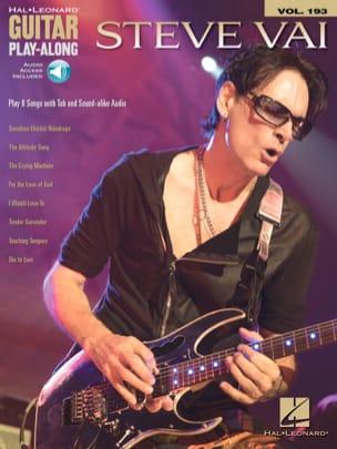 Guitar Play-Along Volume 193 - STEVE VAI Steve Vai laflutedepan
