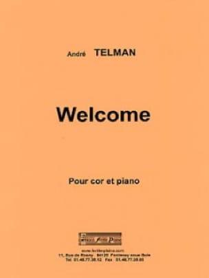 Welcome - André Telman - Partition - Cor - laflutedepan.com