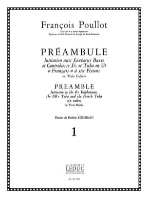 Préambule Volume 1 François Poullot Partition Tuba - laflutedepan