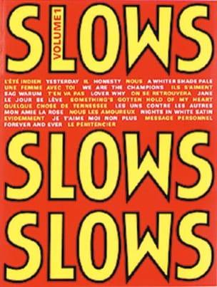 Slows Volume 1 Partition Chanson française - laflutedepan