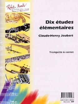 Claude-Henry Joubert - 10 estudios elementales - Partition - di-arezzo.es