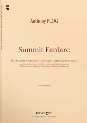 Summit Fanfare Anthony Plog Partition laflutedepan