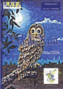 Vol de Nuit Olivier Costa Partition Vibraphone - laflutedepan