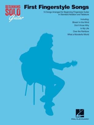 Beginning Solo Guitar - First Fingerstyle Songs laflutedepan