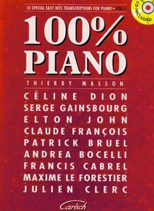 - 100% piano volume 1 - Partition - di-arezzo.co.uk