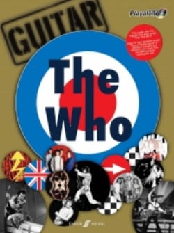 The Who - Authentic Guitar Playalong The Who Partition laflutedepan