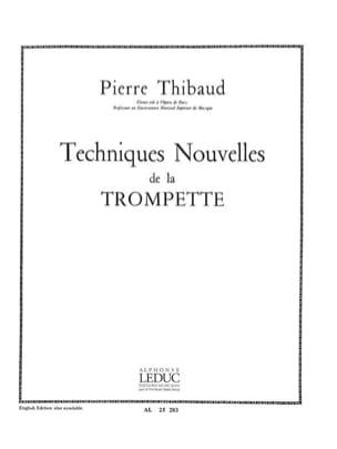 Technique Nouvelle Thibaud Partition Trompette - laflutedepan