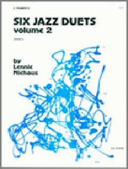 Six Jazz Duets Volume 2 Lennie Niehaus Partition laflutedepan