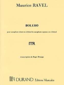 Boléro RAVEL Partition Saxophone - laflutedepan