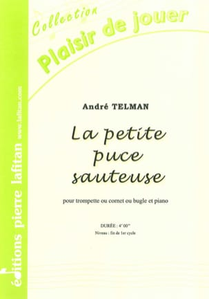 La Petite Puce Sauteuse - André Telman - Partition - laflutedepan.com