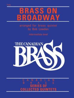 Canadian Brass - Brass On Broadway Partition laflutedepan