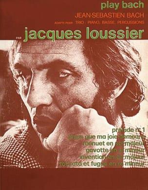 Play Bach Jacques Loussier Partition Jazz - laflutedepan