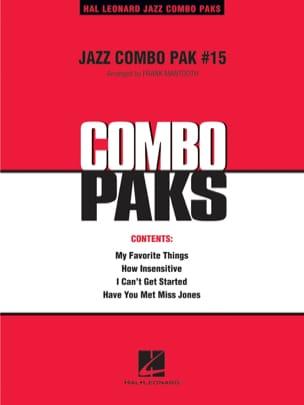 Jazz Combo Pak # 15 Partition ENSEMBLES - laflutedepan