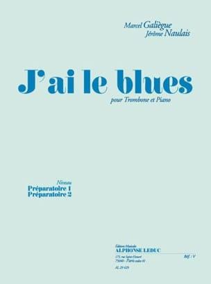 J' Ai le Blues Galiègue M. / Naulais J. Partition laflutedepan