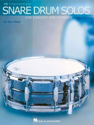 40 Intermediate snare drum solos Ben HANS Partition laflutedepan