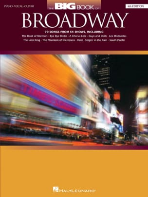 - The Big Book of Broadway - 4th Edition - Partition - di-arezzo.co.uk