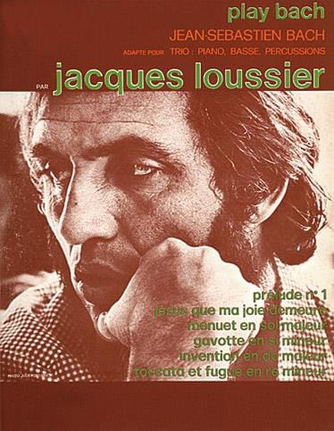 Play Bach - Jacques Loussier - Partition - Jazz - laflutedepan.com